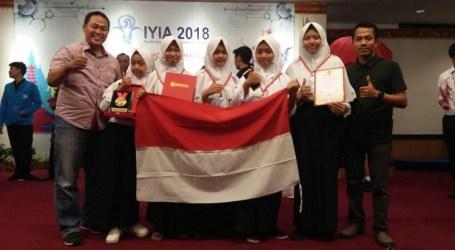 Penghargaan Penemu Muda Intrnasional, Tim MTsN Kota Batu, Malang Raih Emas