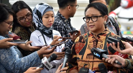 Kunjungi Presiden Jokowi, Menlu Palestina Sampaikan Apresiasi atas Dukungan Indonesia