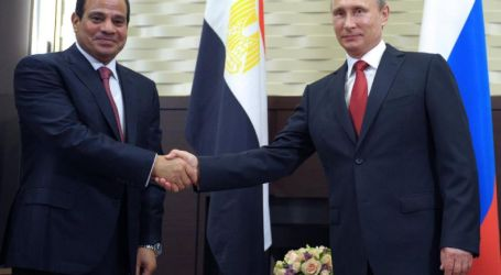 Rusia dan Mesir Tandatangani Kerja Sama