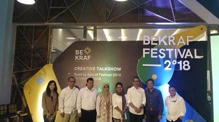 Festival BEKRAF 2018, Panggung Bagi Pelaku Ekonomi Kreatif
