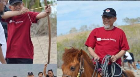 Taklim Jama'ah Muslimin di Lembata Sediakan  Pelatihan Panah, Berkuda dan Renang