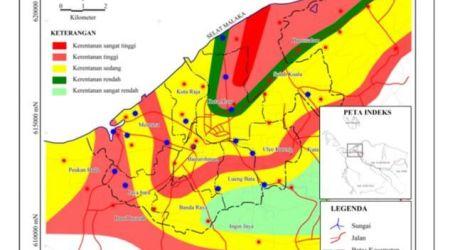 Kota Banda Aceh Berada di Zona 'Lumpur Bergerak'