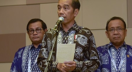 Presiden Jokowi Sampaikan Dukacita Bagi Korban Tsunami