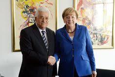 Kanselir Jerman Akan Dorong Abbas Kembali ke Meja Perundingan