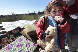 Para Pengungsi Palestina Protes Kelayakan Kamp