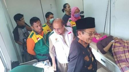 BAZNAS Gandeng Tradecorp Dirikan Rumah Sakit Lapangan di Sulteng