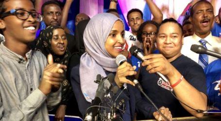 Dukungan Terus Mengalir untuk Anggota Parlemen Muslimat AS