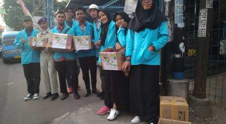 Mahasiswa STAI Al-Fatah Galang Dana untuk Korban Tsunami Selat Sunda