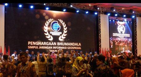 Pemprov DKI Raih Penghargaan dari Badan Informasi Geospasial