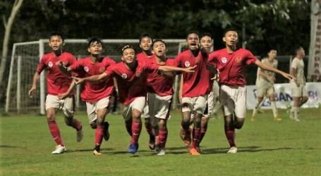 Kalahkan China Hubei FC 3-1, Timnas Pelajar U-15 Indonesia Lolos ke Final