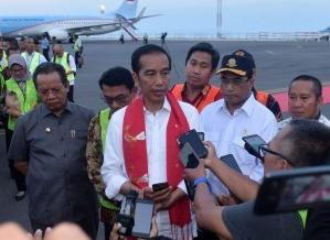 Pascabencana Tsunami, Presiden Imbau Masyarakat Tetap Tenang