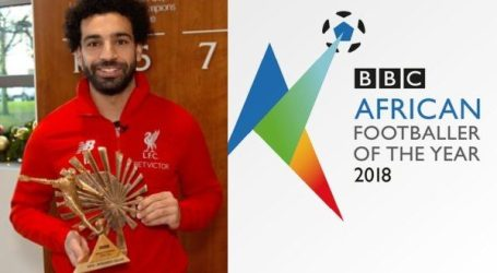 Mo Salah Pesepakbola Afrika Terbaik 2018