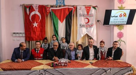 Bulan Sabit Merah Turki Kirimkan 8,5 Ton Obat ke Gaza