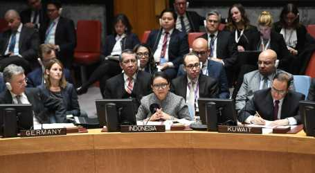 Di Dewan Keamanan, Menlu RI Tegaskan Hak Palestina Jadi Anggota Penuh PBB