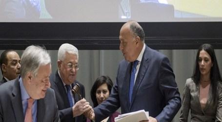 Menlu Mesir Bahas Perdamaian Timur Tengah dengan Sekjen PBB