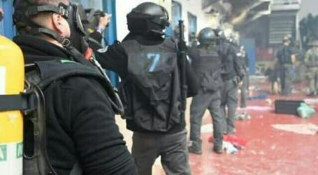Tentara Israel Lukai 100 Tahanan di Penjara Ofar