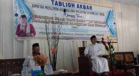 Jama'ah Muslimin (Hizbullah) Gelar Tablig Akbar di Ternate