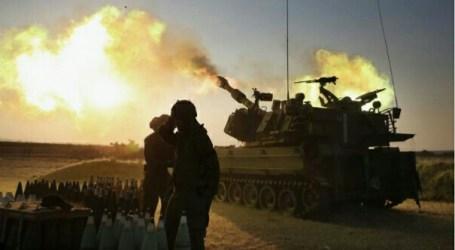 Peralatan Militer Israel Terbakar Kena Tembakan, Israel Membalas
