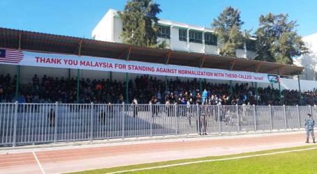 Bendera Malaysia Berkibar di Stadion Gaza