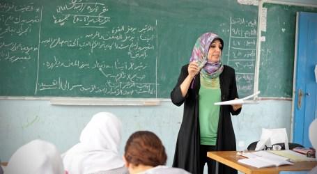 Guru di Gaza Pertanyakan Gaji Tak Menentu ke PBB