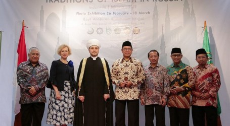 Pameran Tradisi Islam Rusia di Museum Istiqlal TMII Jakarta Resmi Dibuka