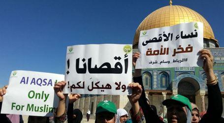Kelompok Pemuda Palestina Serukan Mobilisasi dan Berkumpul di Area Masjid Al-Aqsa