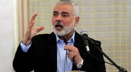 Haneyya Serukan Meningkatkan Perlawanan untuk Lindungi Al Aqsa