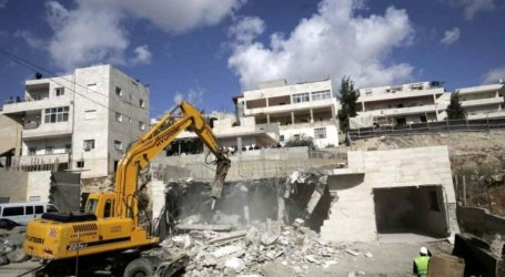 Israel Hancurkan Bangunan Sekolah di Shu'fat