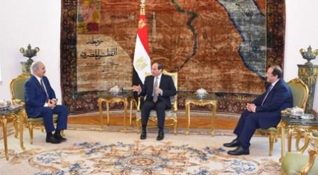 Sisi ke Haftar: Mesir Dukung Langkah Kontraterorisme Mencapai Keamanan di Libya