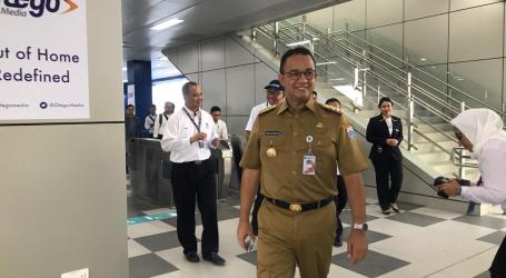 Hari Pertama Beroperasi, Anies Ajak Masyarakat Manfaatkan MRT Jakarta
