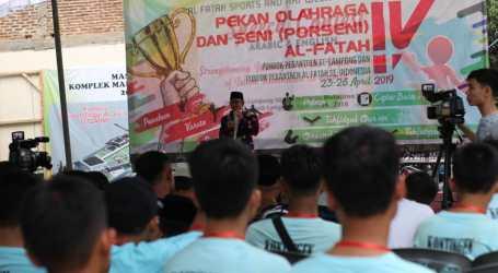 Porseni Al-Fatah ke-4 Resmi Dibuka