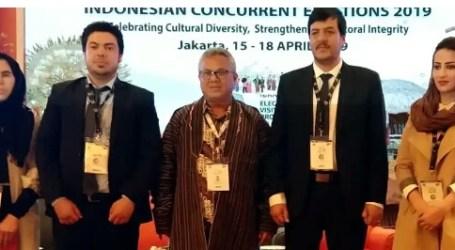 Empat Orang Delegasi Afganistan Saksikan Pemilu Indonesia