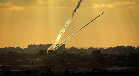 Dua Roket dari Gaza Hancurkan Pagar Perbatasan