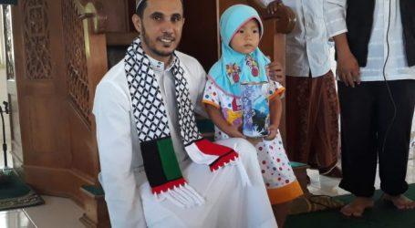 Khanza Talita Ulfa, Sumbang Tabungan Haji untuk Palestina
