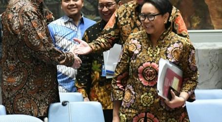 Menlu RI Pimpin Sidang DK PBB, Utusan Berbagai Negara Pakai Batik dan Tenun Ikat