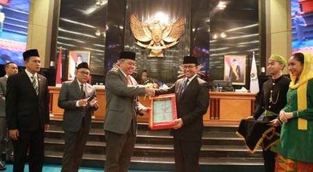 Anies Sampaikan Realisasi Pelaksanaan APBD DKI Jakarta Tahun Anggaran 2018