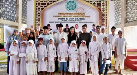 Remaja Masjid Indonesia Berbagi Kebahagiaan Ramadhan dengan Anak Yatim
