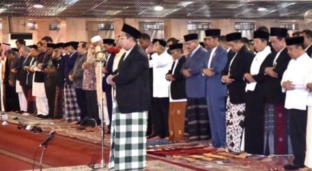 Presiden Jokowi Shalat Idul Fitri di Masjid Istiqlal