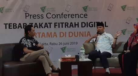 Zakat Dibagikan Secara Digital Kepada Kaum Dhuafa