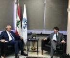 Menteri Keuangan Lebanon Bertemu Delegasi IMF