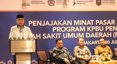 Nova Iriansyah Yakinkan Investor Bangun RSUD Zaeonal Abidin