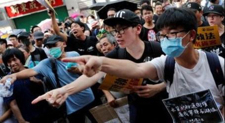 Bentrokan Baru di Hong Kong Pecah Protes Pedagang Perbatasan Cina