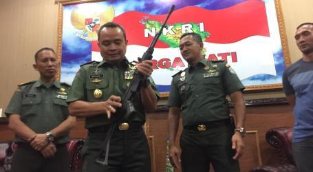 Enam Senjata Sisa Konflik di Aceh Kembali Diserahkan ke Kodam IM