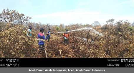 Kebakaran Hutan dan Lahan di Aceh Semakin Bertambah
