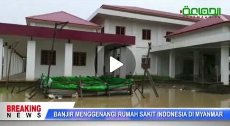 RS Indonesia di Myanmar Tergenang Banjir