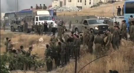 Tentara Israel Rayakan Penghancuran Rumah Palestina di Wadi Homs