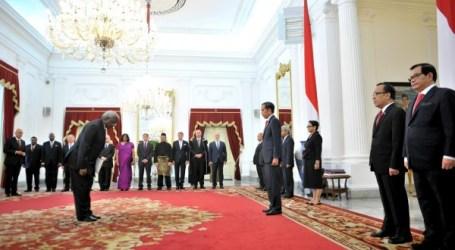 Presiden Jokowi Terima Surat Kepercayaan dari 12 Dubes Baru