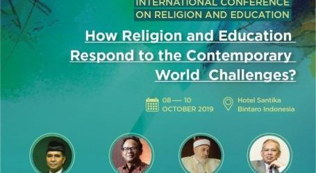 Konferensi Internasional Pendidikan dan Agama Digelar Oktober Mendatang
