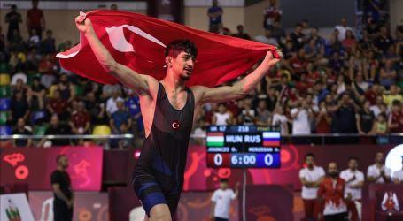 Kejuaraan Gulat Dunia Junior, Pegulat Turki Raih Emas
