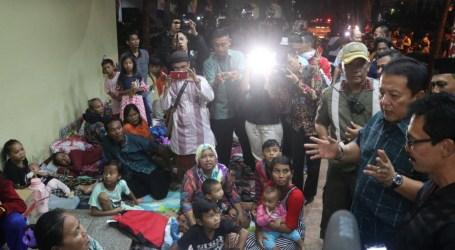 Ribuan Pengungsi di Kantor Gubernur Lampung Diperbolehkan Pulang